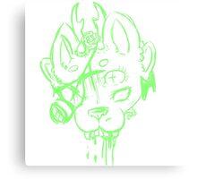 Toxic Creature Canvas Print