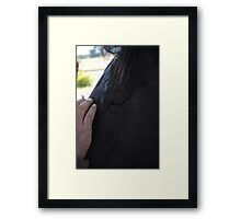Horses-Second To Mans Best Friend Framed Print