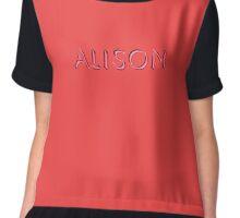 Alison Chiffon Top