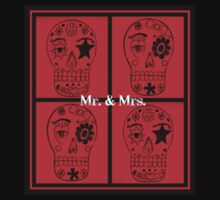 Mr. & Mrs. Sugar Skulls Kids Tee