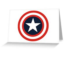 captain america Greeting Card