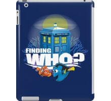 Finding Who? iPad Case/Skin