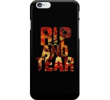 Doom - Rip And Tear iPhone Case/Skin