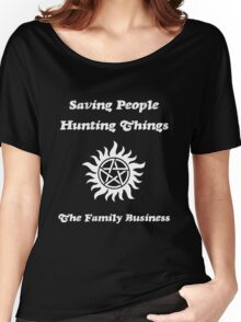 Supernatural - Saving People Hunting Things Women's Relaxed Fit T-Shirt