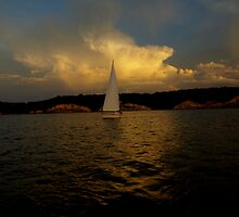 Sailing Ahead of the Storm by cbeers5009