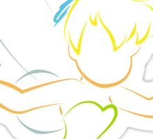 Tinker Bell (Personalized, please Bubblemail/email me before ordering) Sticker