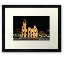 HDR- Old Town Hall Bendigo, Australia Framed Print