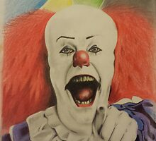 """pennywise the clown """"IT"""" by tattooneto"""