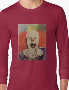 """pennywise the clown """"IT"""" Long Sleeve T-Shirt"""