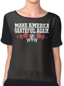 Make America Grateful Women's Chiffon Top