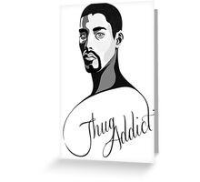 Thug Addict #2 v.1 Greeting Card