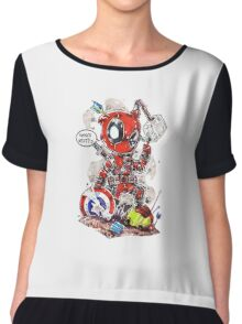 Dead pool Chiffon Top
