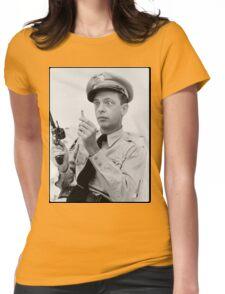 Gun Crazy Barney Womens Fitted T-Shirt