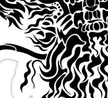 Chimera (Black) Sticker