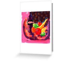 Night Still Life by Roger Pickar, Goofy America Greeting Card