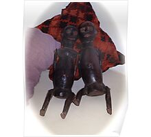 African wooden dolls Poster