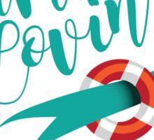 Summer Lovin' design Sticker
