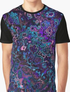 blue pink and purple abstract 4 Graphic T-Shirt