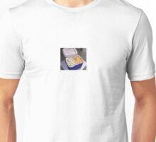 Eggs and Cheese in a Cooler Unisex T-Shirt