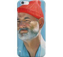 Steve Zissou iPhone Case/Skin