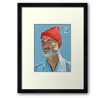 Steve Zissou Framed Print