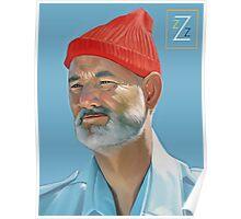 Steve Zissou Poster