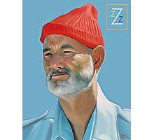 Steve Zissou Photographic Print