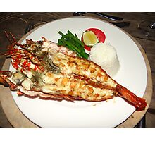 Lobster Dinner Photographic Print
