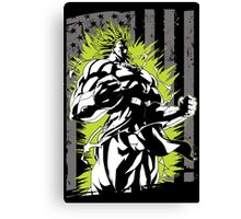 Super Saiyan Broly - RB00001 Canvas Print
