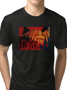The Devil's in the Paper Tri-blend T-Shirt