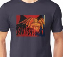 The Devil's in the Paper Unisex T-Shirt