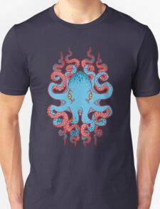Twisted Tentacles - Red Unisex T-Shirt