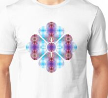 Ornate Polygon Mosaic 12 Unisex T-Shirt