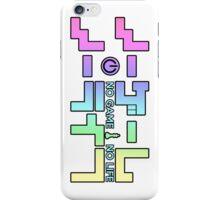 No Game No Life Logo ~ Rainbow Gradient  iPhone Case/Skin
