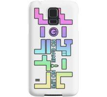 No Game No Life Logo ~ Rainbow Gradient  Samsung Galaxy Case/Skin