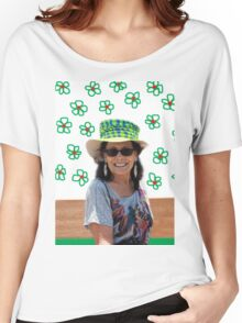 A Different Mad Hatter In Wonderland!  Women's Relaxed Fit T-Shirt