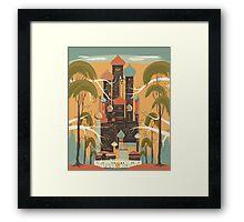Sunny Oasis Framed Print