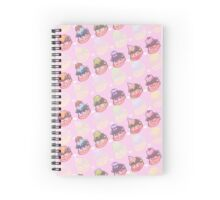 SWEETS! - Pink version Spiral Notebook