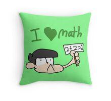 Churromatsu does a math Throw Pillow