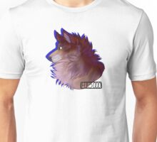 Fluffy Wolf/Dog Unisex T-Shirt