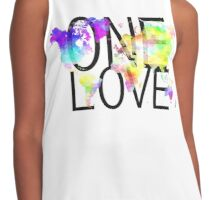 One Love Contrast Tank