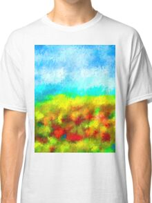 Summer Time Abstract - 1 Classic T-Shirt