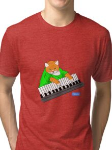 Key_Cat Tri-blend T-Shirt