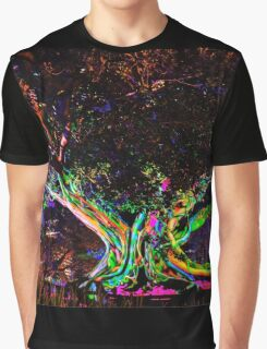 A Tree's Life - Vivid Sydney, Sydney Botanic Gardens.  Graphic T-Shirt