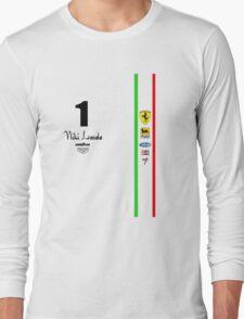 Niki Lauda Ferarri F1 1976 1975 Long Sleeve T-Shirt