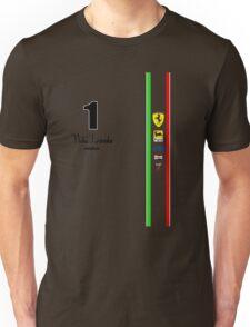 Niki Lauda Ferarri F1 1976 1975 Unisex T-Shirt