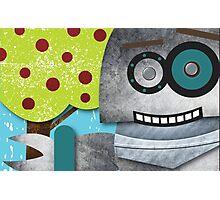 Robots Love Apples Photographic Print