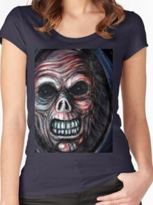 grim reaper Women's Fitted Scoop T-Shirt