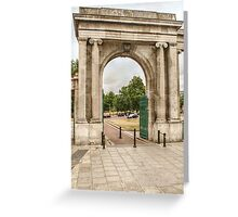 Arch in London Greeting Card
