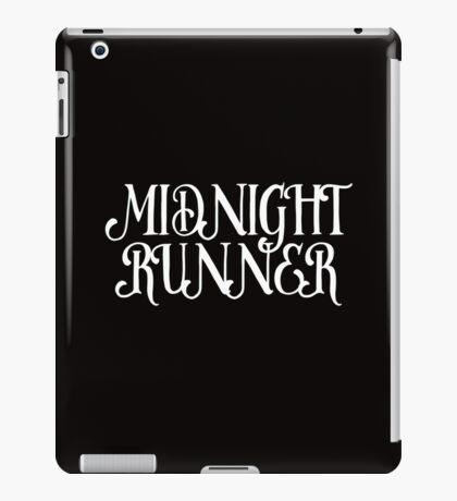 MIDNIGHT RUNNER iPad Case/Skin